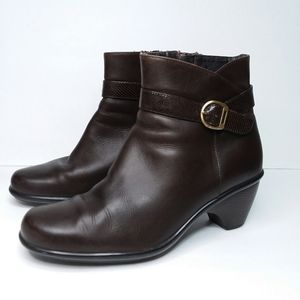 DANSKO Ankle Boots Brown Leather Ryan Size 40